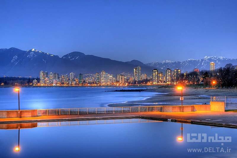ساحل کیتسیلانو جاذبه های ونکوور
