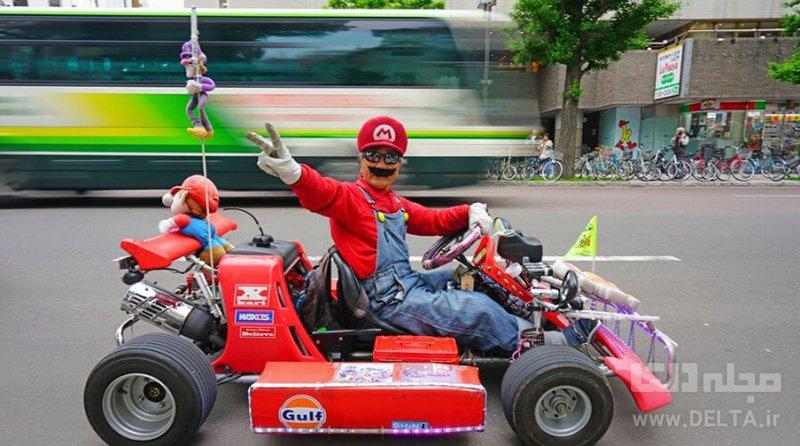 سوپر ماریو تفریحات توکیو