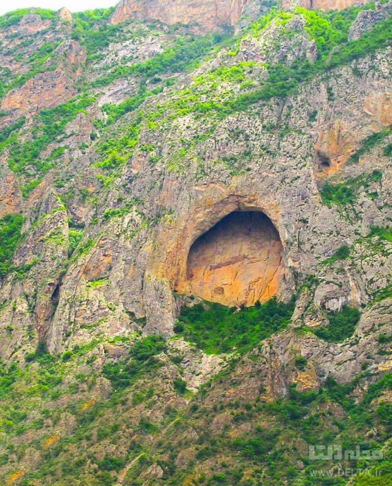 غار اسپهبد خورشید جاذبه های گردشگری ایران