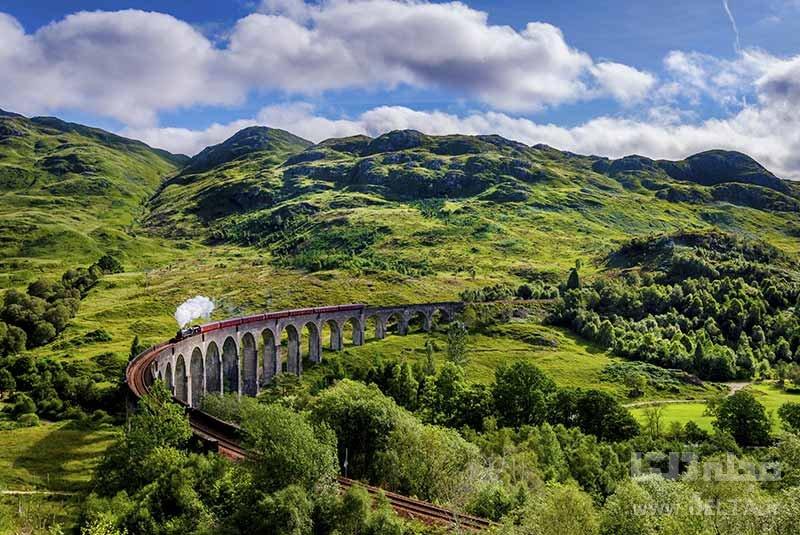 قطار بین قاره ای اروپا برترین جاذبه های گردشگری
