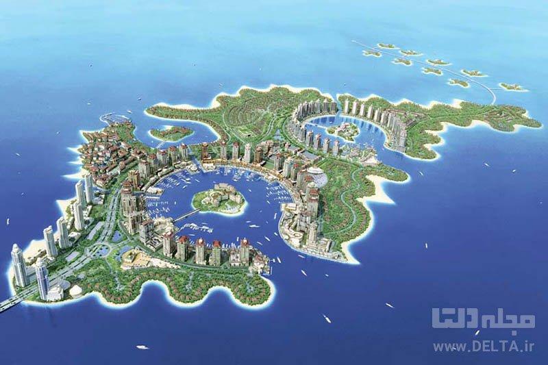 مروارید قطر جاذبه های گردشگری دوحه
