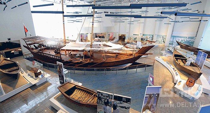 موزه دریایی دیدنی های شارجه