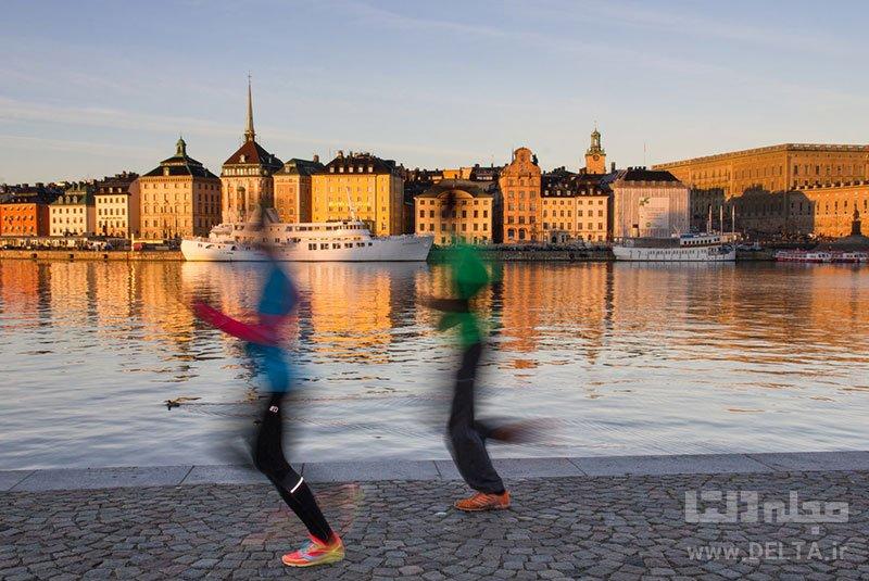ورزش در فضای باز بازدید از موزه تاریخ سوئد یاد گرفتن زبان سوئدی شرکت در تورهای پیاده روی جاذبههای گردشگری رایگان استکهلمتماشای گارد سلطنتی آبی پوش