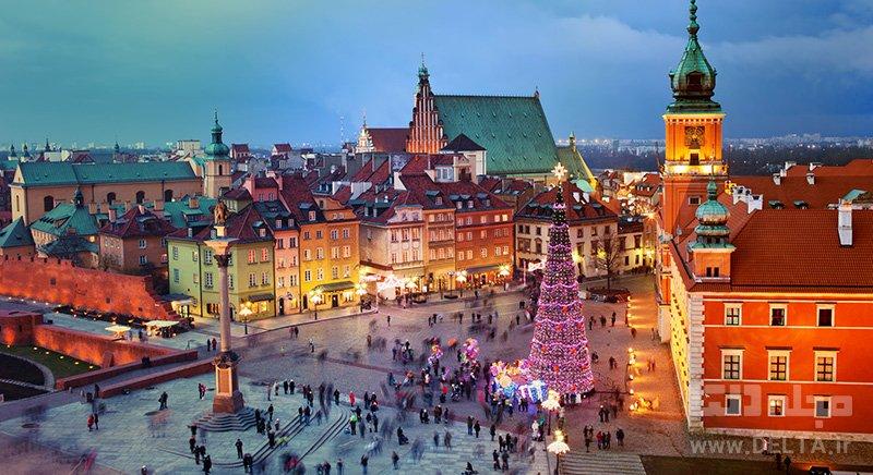 ورشو، لهستان ارزانترین شهرهای اروپایی