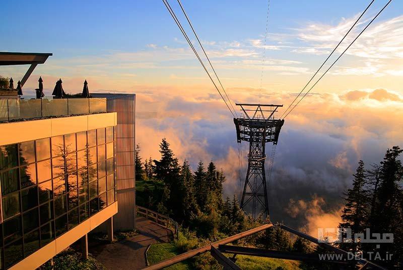 کوه گرووس جاذبه های ونکوور