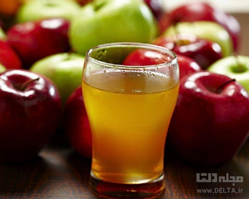 شربت سیب خانگی