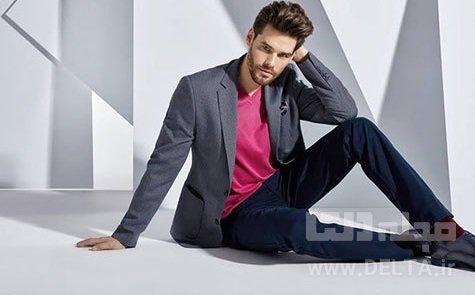 تركيب رنگ لباس مردانه