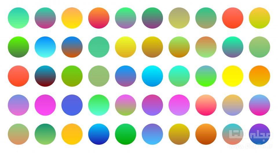 تاثير رنگ