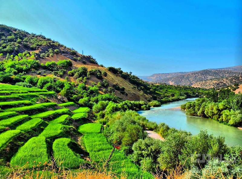 رفتینگ در دره عشق چهارمحال و بختیاری