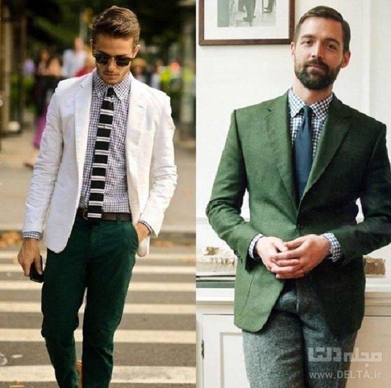 تركيب رنگ سبز