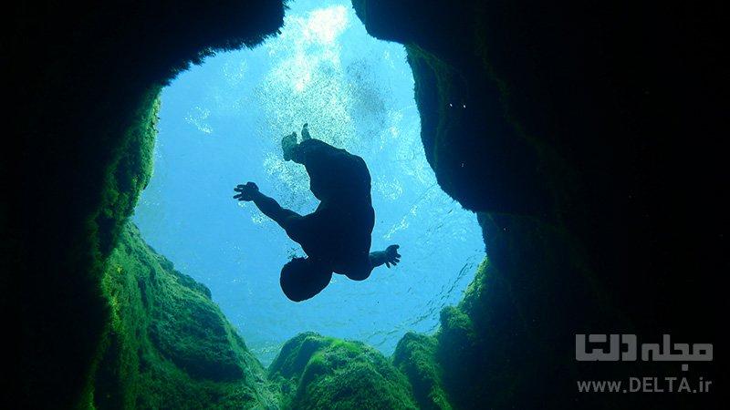 شنا در چاه یعقوب