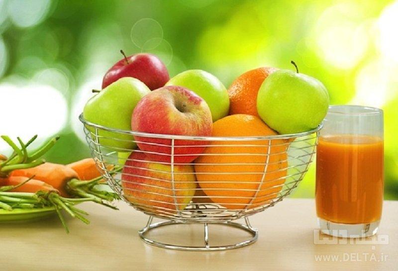 سیب، هویج و پرتقال