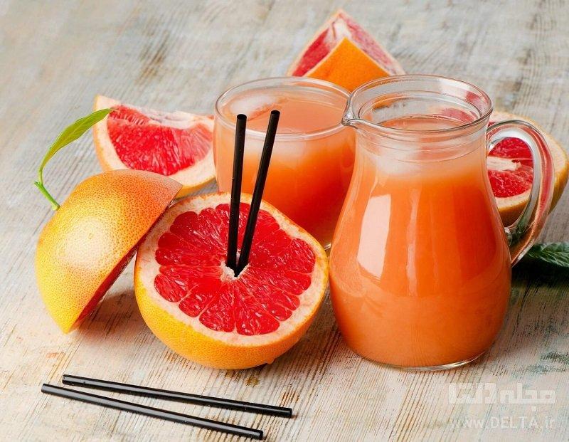 پرتقال و گریپ فروت