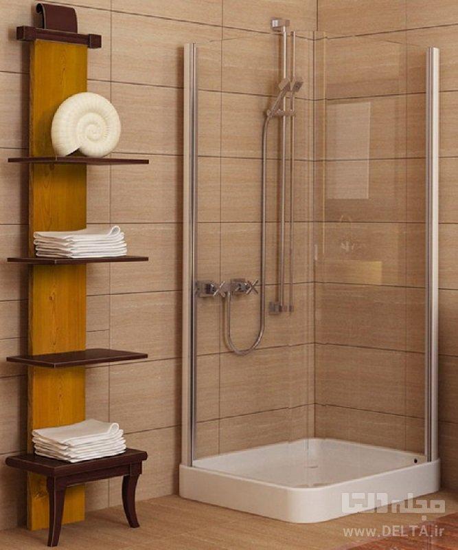 عدم استفاده از وان در حمام کوچک