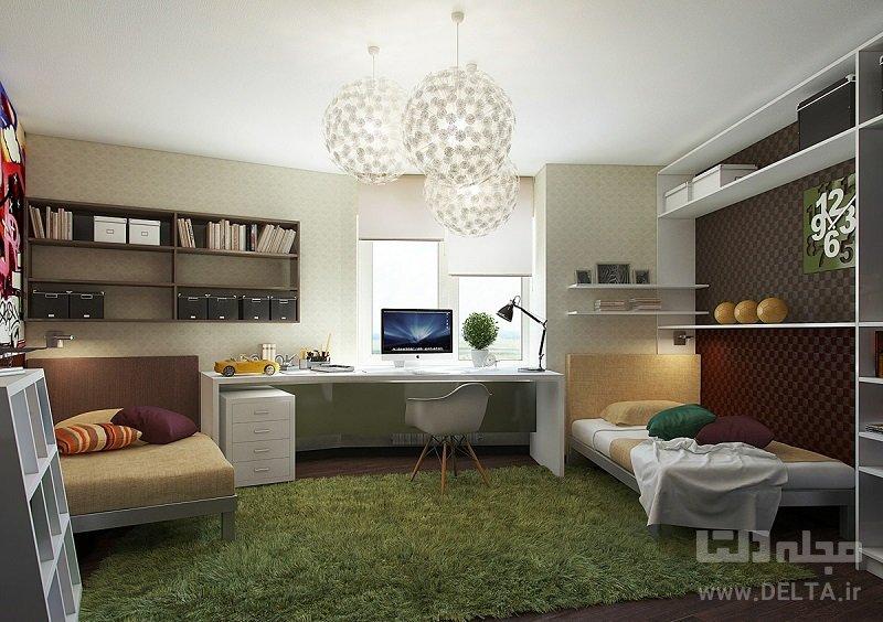 اتاق چندمنظوره برای نوجوان