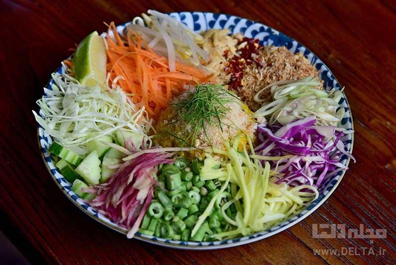 غذاها دانستنيهاي سفر به تايلند