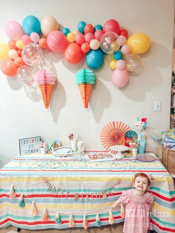 دکوراسیون جشن تولد