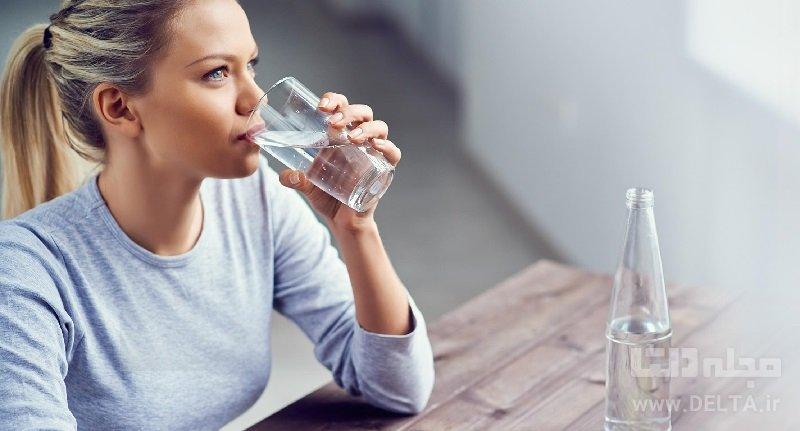 برای درمان اورژانسی فشار خون بالا آب بنوشید