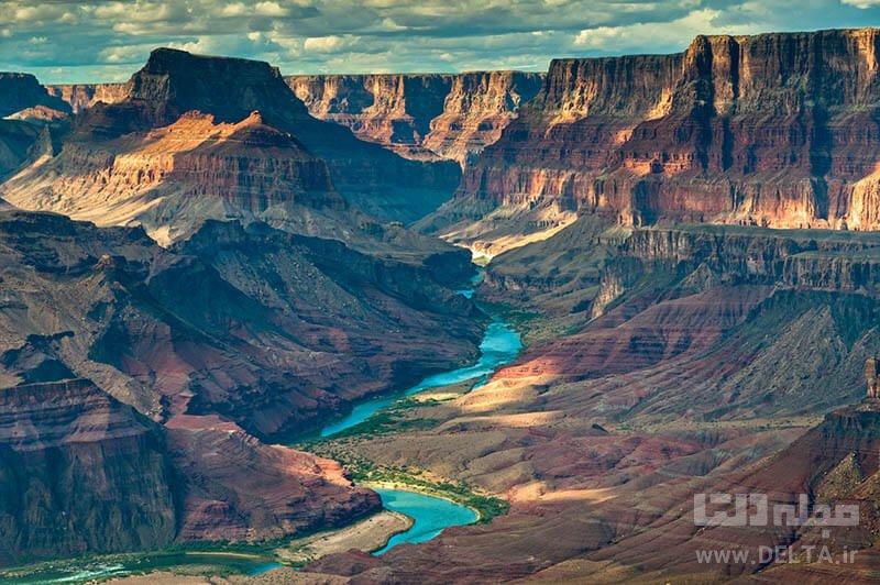 پارک ملی گرند کانیون جاذبه های طبیعی آمریکا