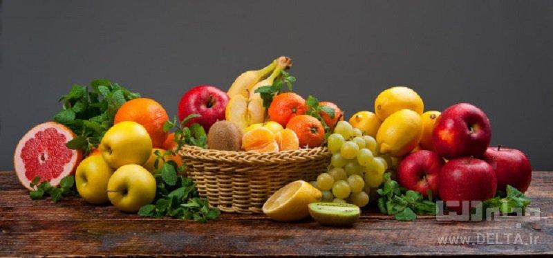 رفع تشنگی با میوه