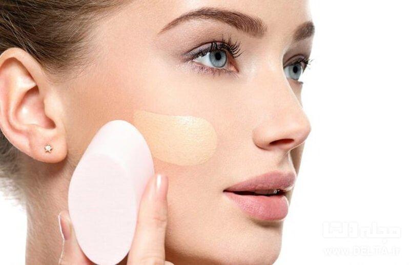 کرم پودر برای پوست های حساس