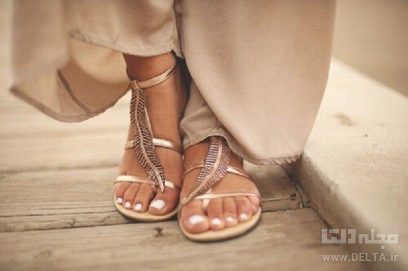 آرایش تابستانی پا