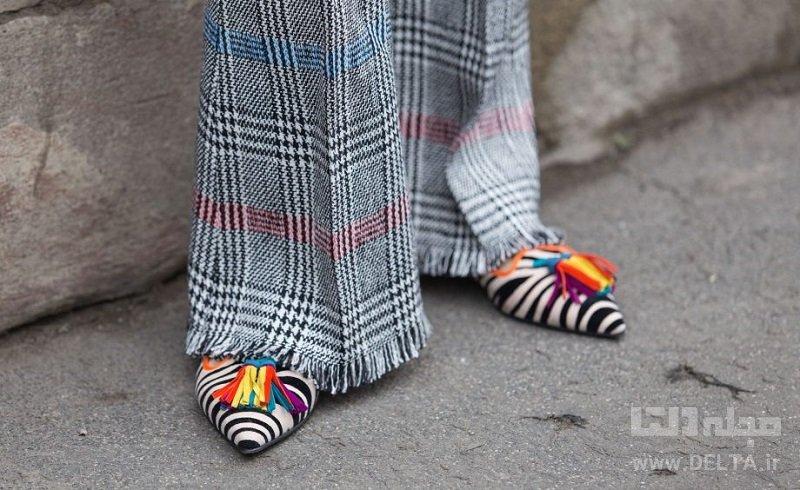 کفش تخت زنانه تابستانه