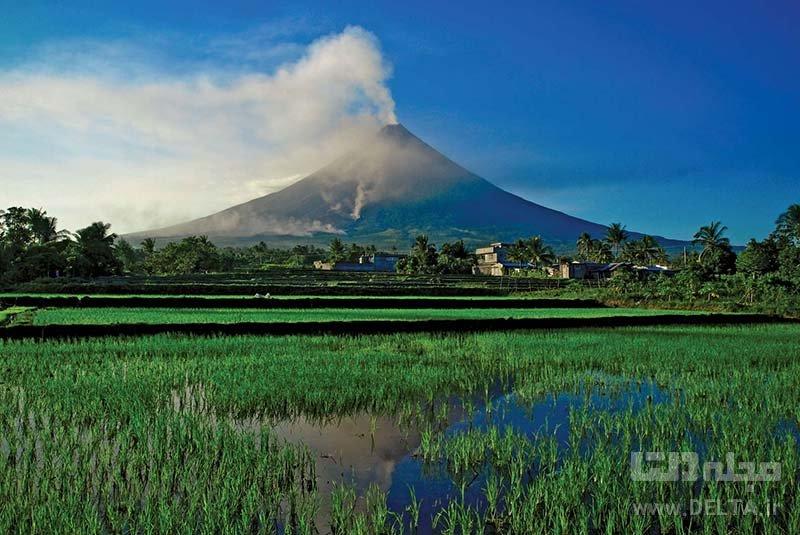 آتشفشان مایون جاذبه های گردشگری فیلیپین