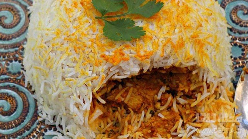 بریانی-مرغ-هندی