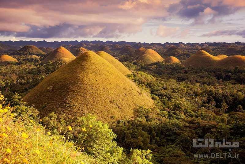 جزیره بوهول جاذبه های گردشگری فیلیپین