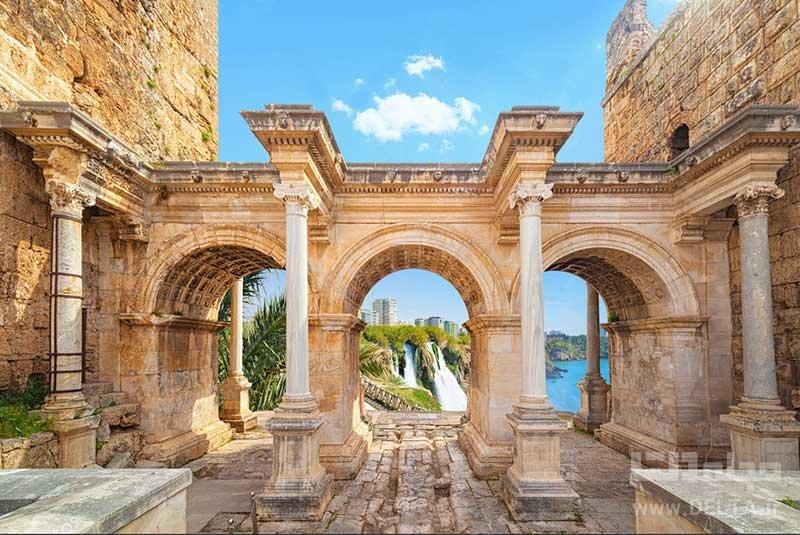 دروازه هادریان راهنمای سفر به آنتالیا