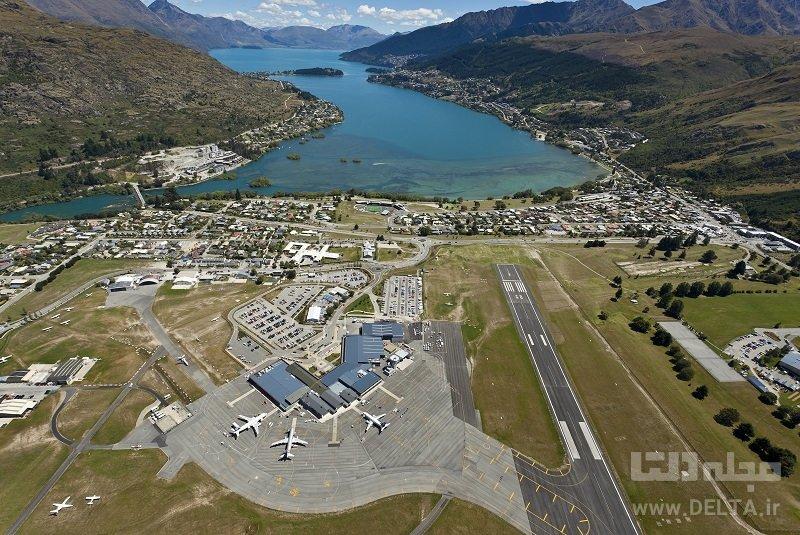 فرودگاه کویینزتاون - نیوزلاند