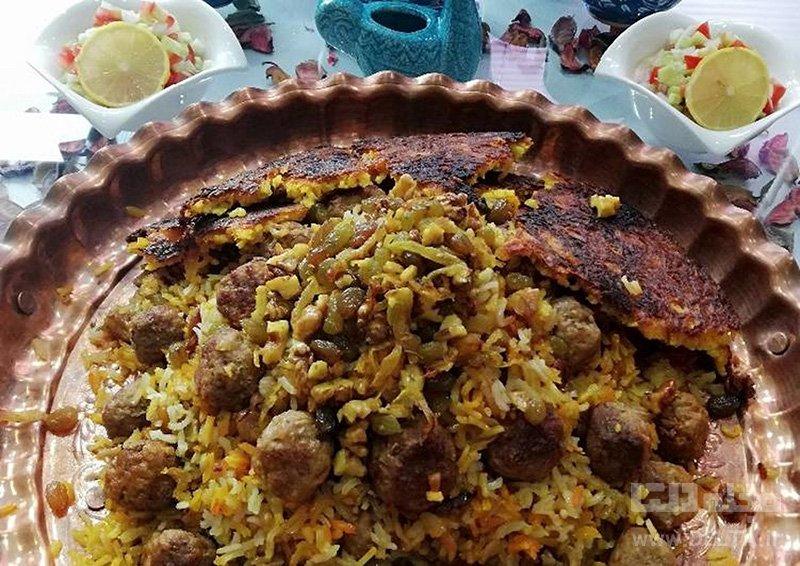 قنبر-پلو-شیرازی