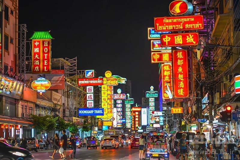 گردش در چاینا تاون دانستنی های سفر به بانکوک