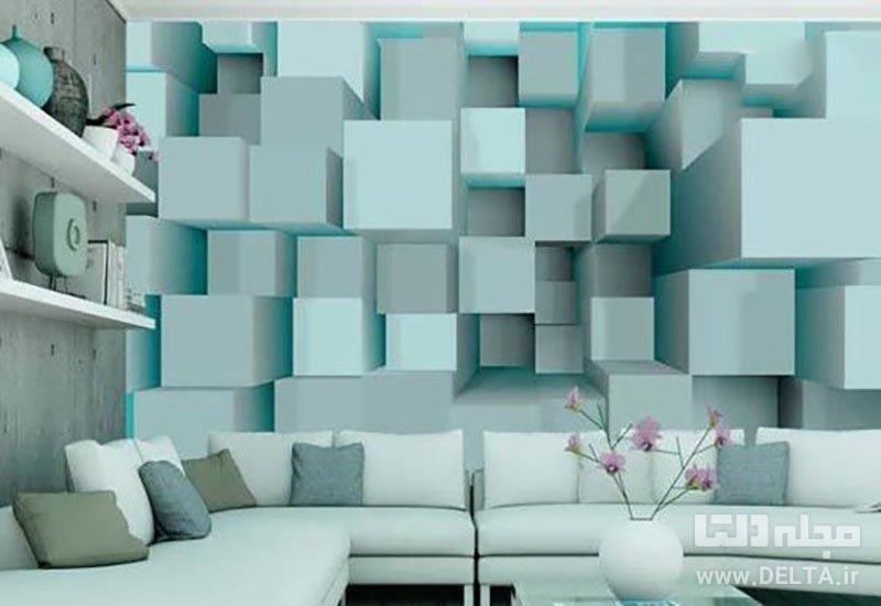 کاغذ دیواری سه بعدی