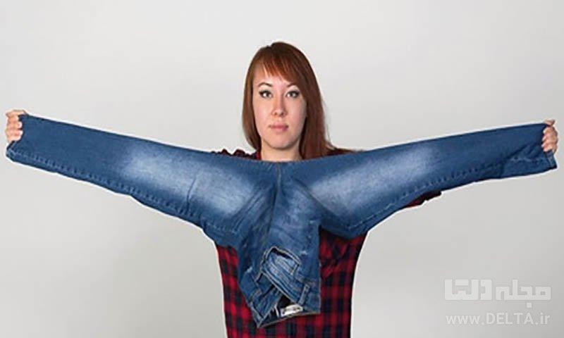 سایز جین