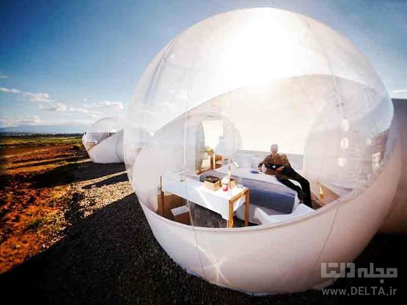 اقامتگاههای حبابی اسپانیا