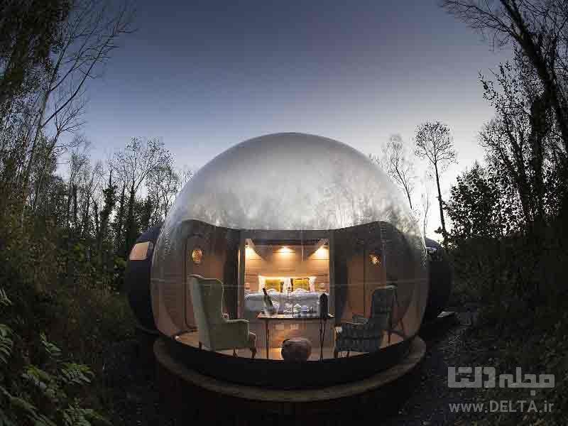اقامتگاههای حبابی