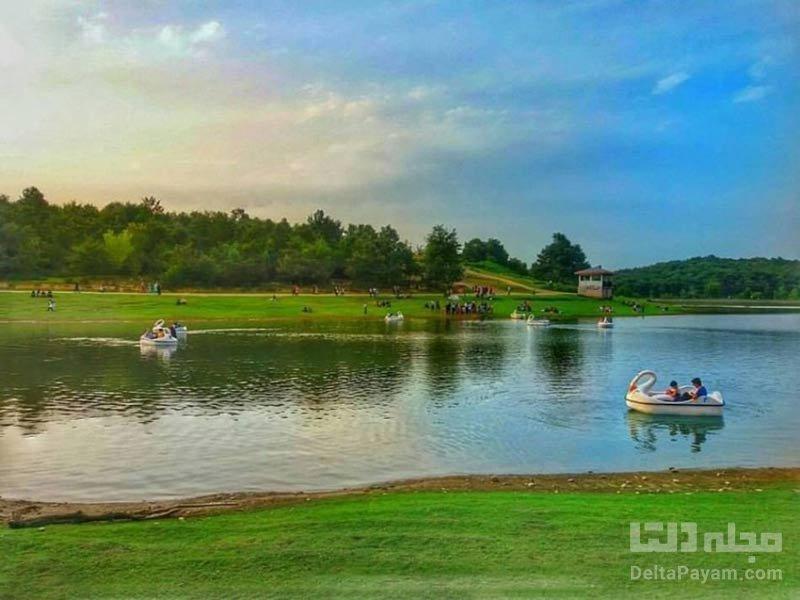 دریاچه سقالکسار گیلان رشت