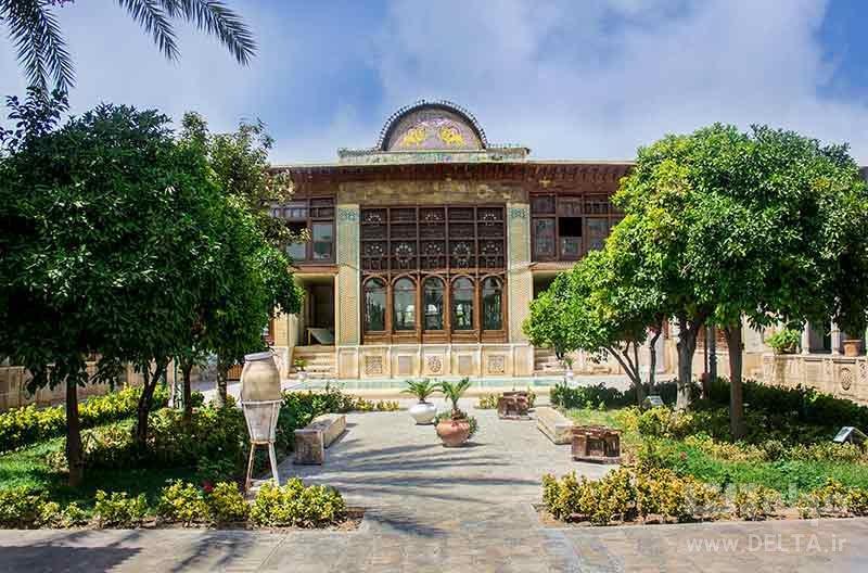 دیدنی های شیراز نارنجستان قوام
