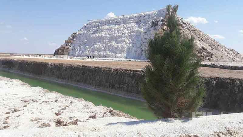 آبشار نمکی پتاس ایرانگردی