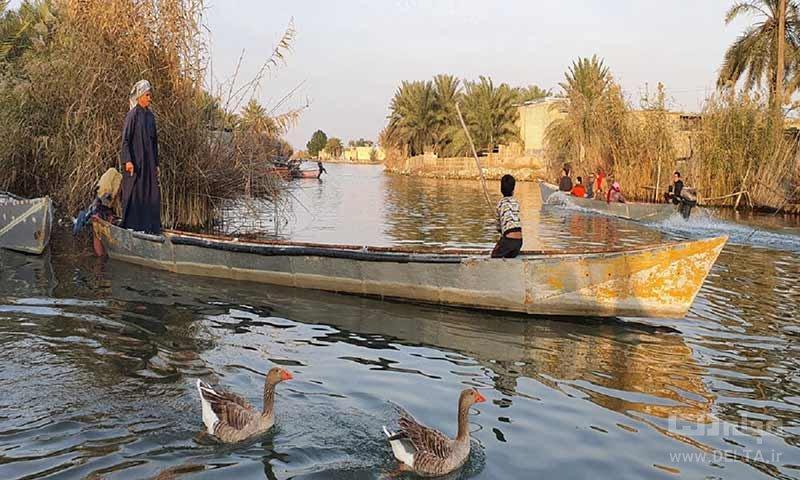 روستای صراخیه ونیز ایران خوزستان