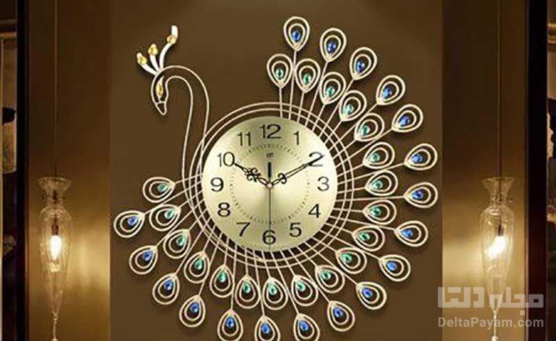 ساعت دكوري