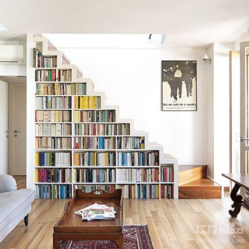 ایدههای کتابخانه دیواری