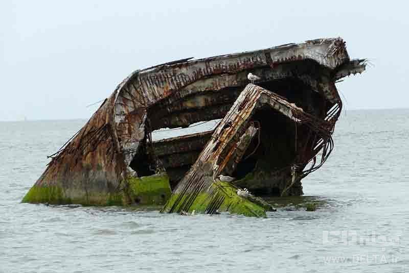 کشتی غرق شده سن پاسکال