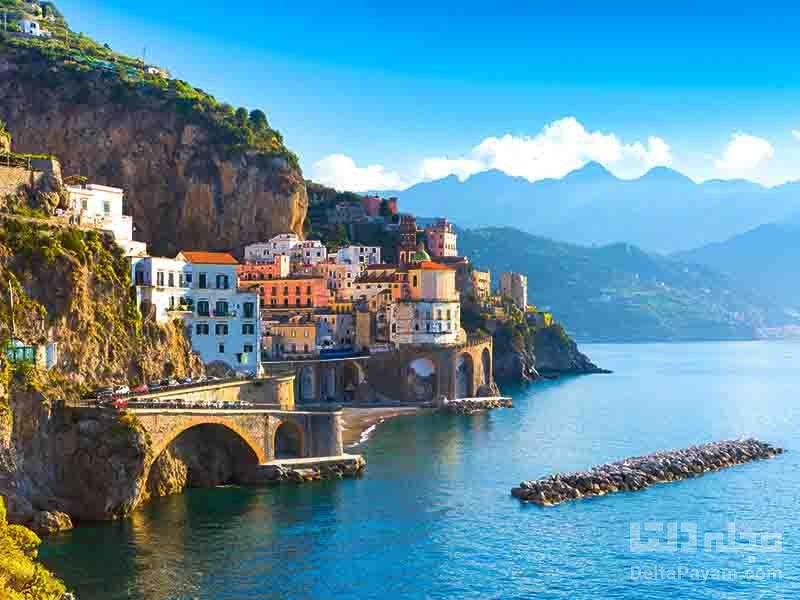 بررسي ساحل آمالفي Amalfi Coast