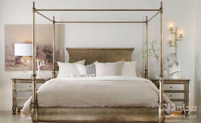 تخت خواب سايه بان دار