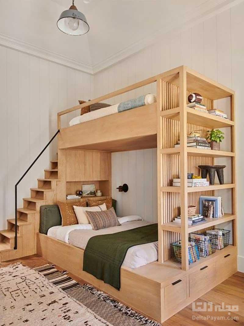 اتاق خواب مشترک کودک و والدین