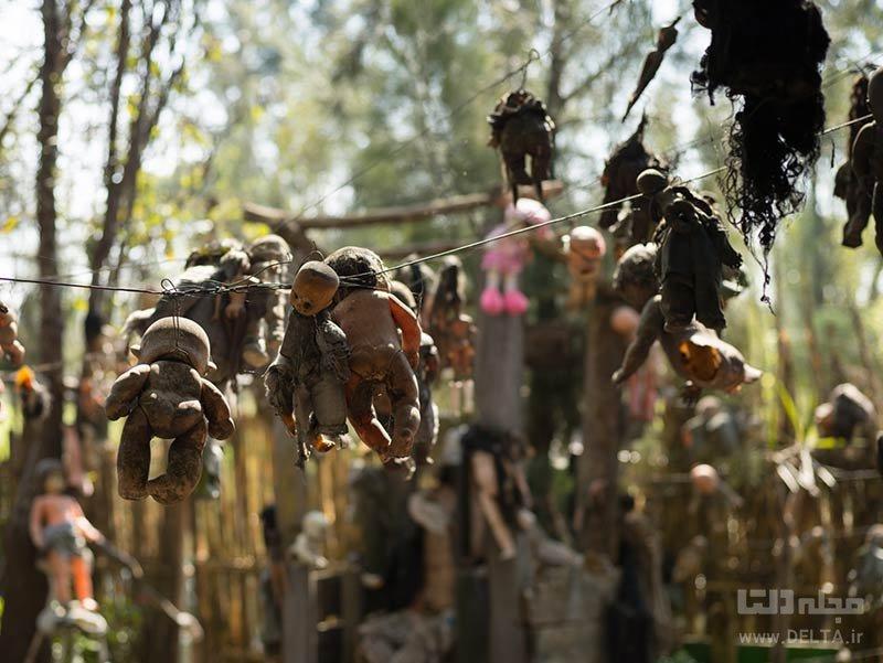 داستان جزیره عروسک ها