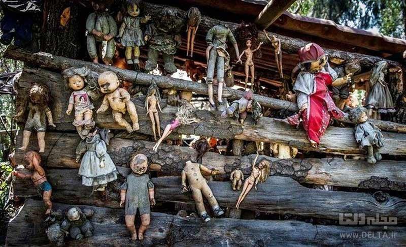 جزیره عروسک ها در مکزیک، گردشگری وحشت